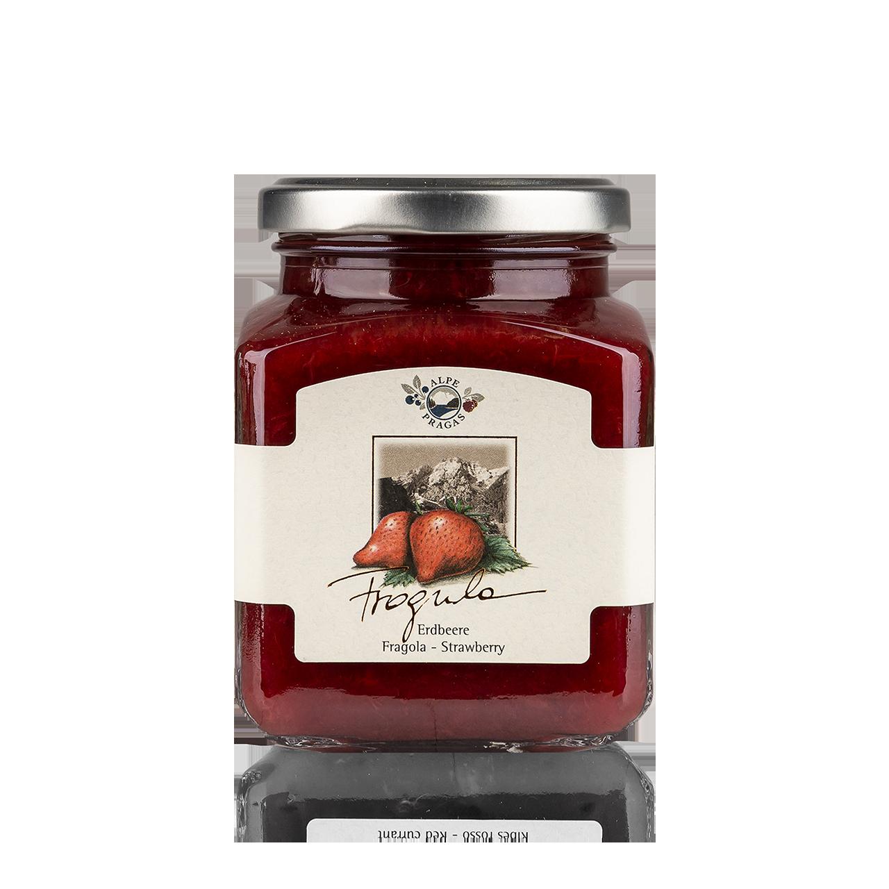 Fragula Fruchtaufstrich Erdbeere 335g - 75% Frucht