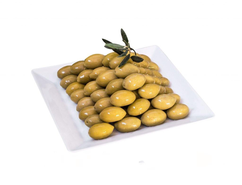 gelbe Italienische Oliven