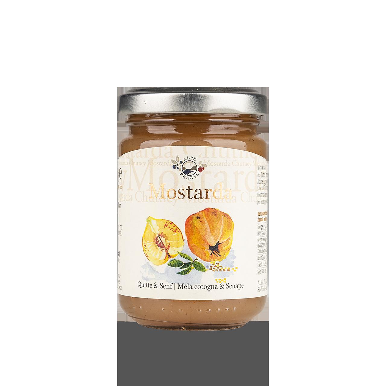 Chutney - Mostarda Quitte & Senf 160g