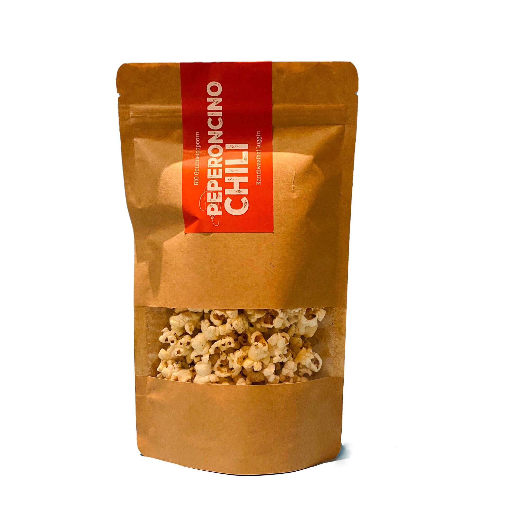 Bio Gourmetpopcorn mit Chili