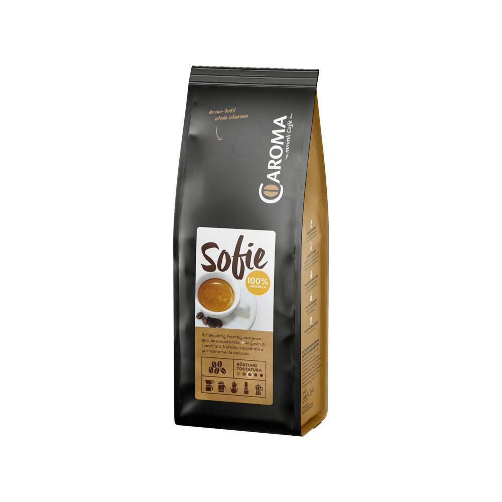 Sofie 100 % Arabica Bohnen