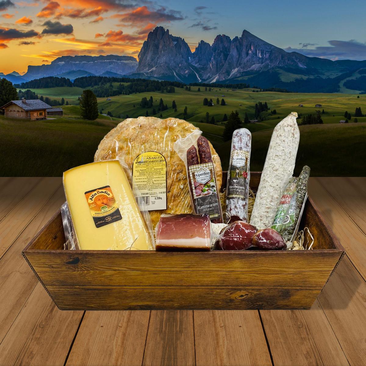 """Degustations Box """"Das Beste aus Südtirol"""""""