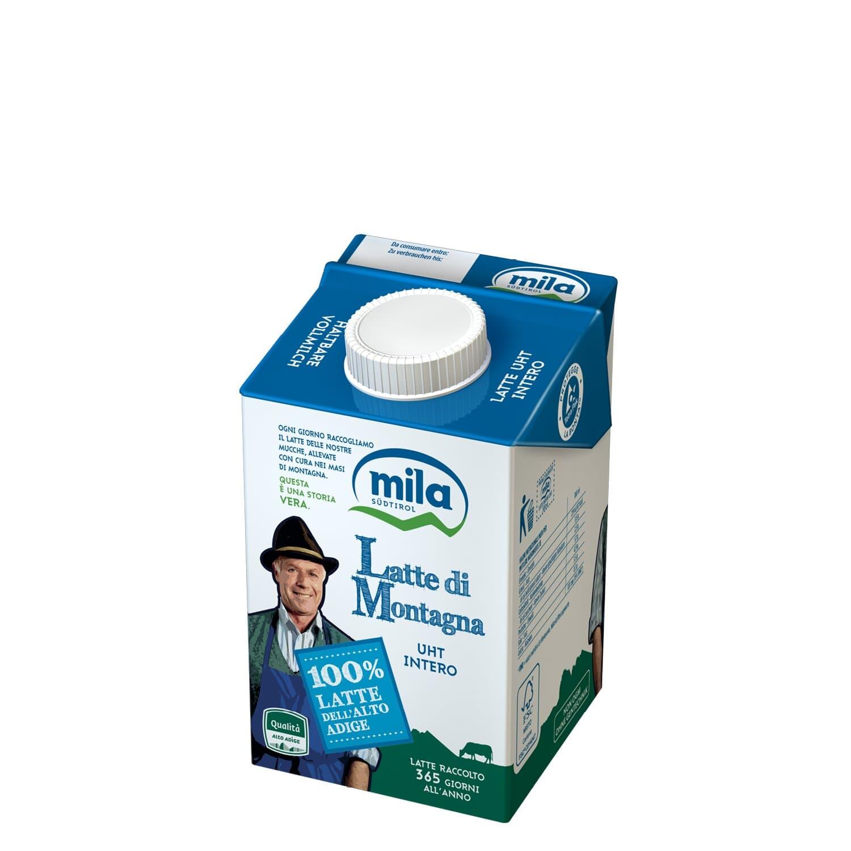 Haltbare Milch - Vollmilch aus Südtirol