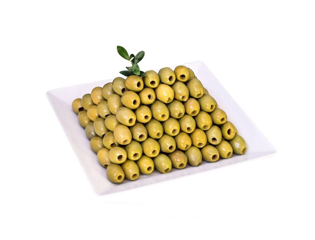 Italienische Oliven ohne Stein