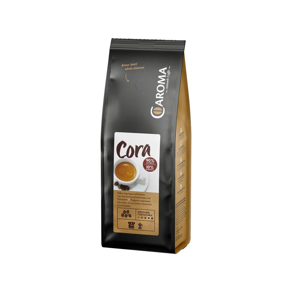 Cora 90 % Arabica 10 % Robusta Bohnen Espresso