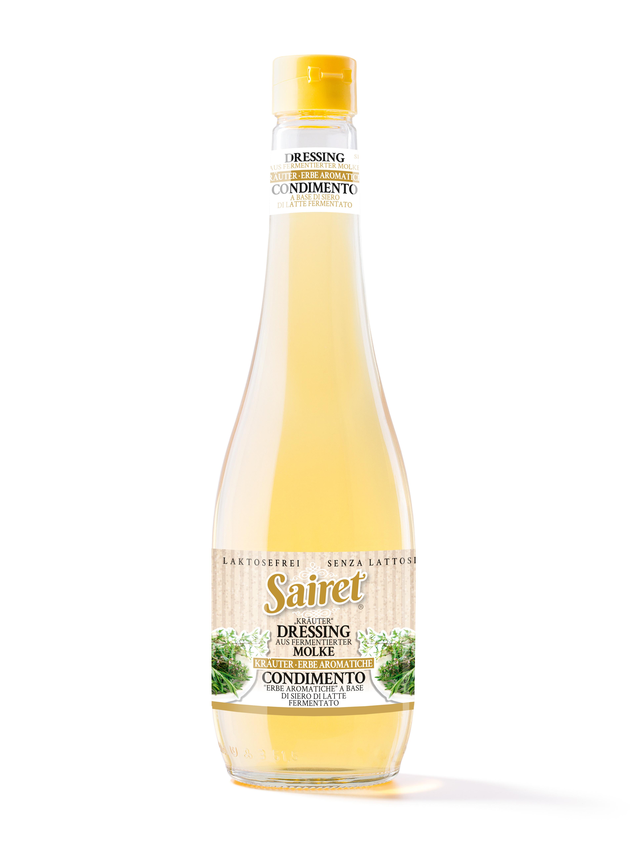 Sairet - Naturdressing aus fermentierter Molke mit Kräuter