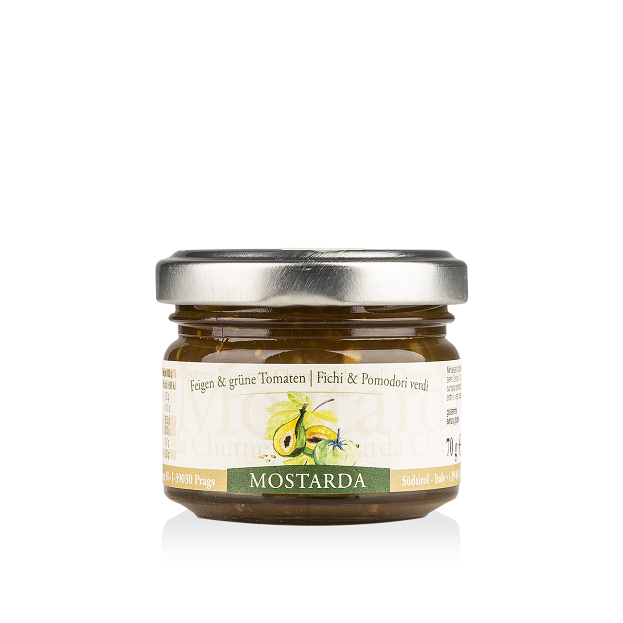 Chutney - Mostarda Feige & grüne Tomate 70g