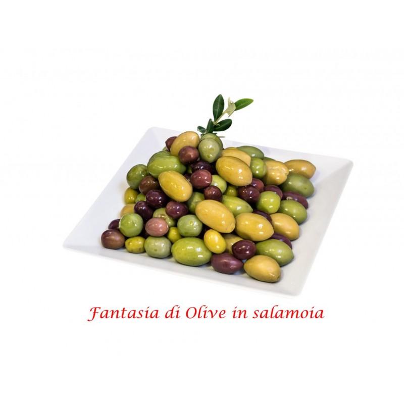 kleine und große Oliven nach Bauernart