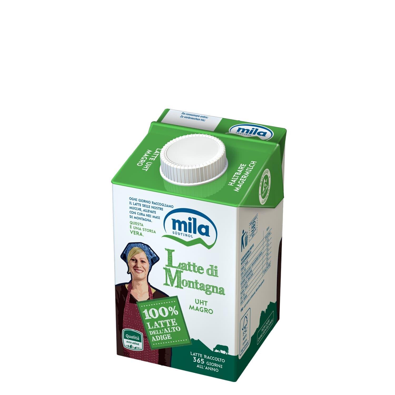 Haltbare Milch - Magermilch aus Südtirol
