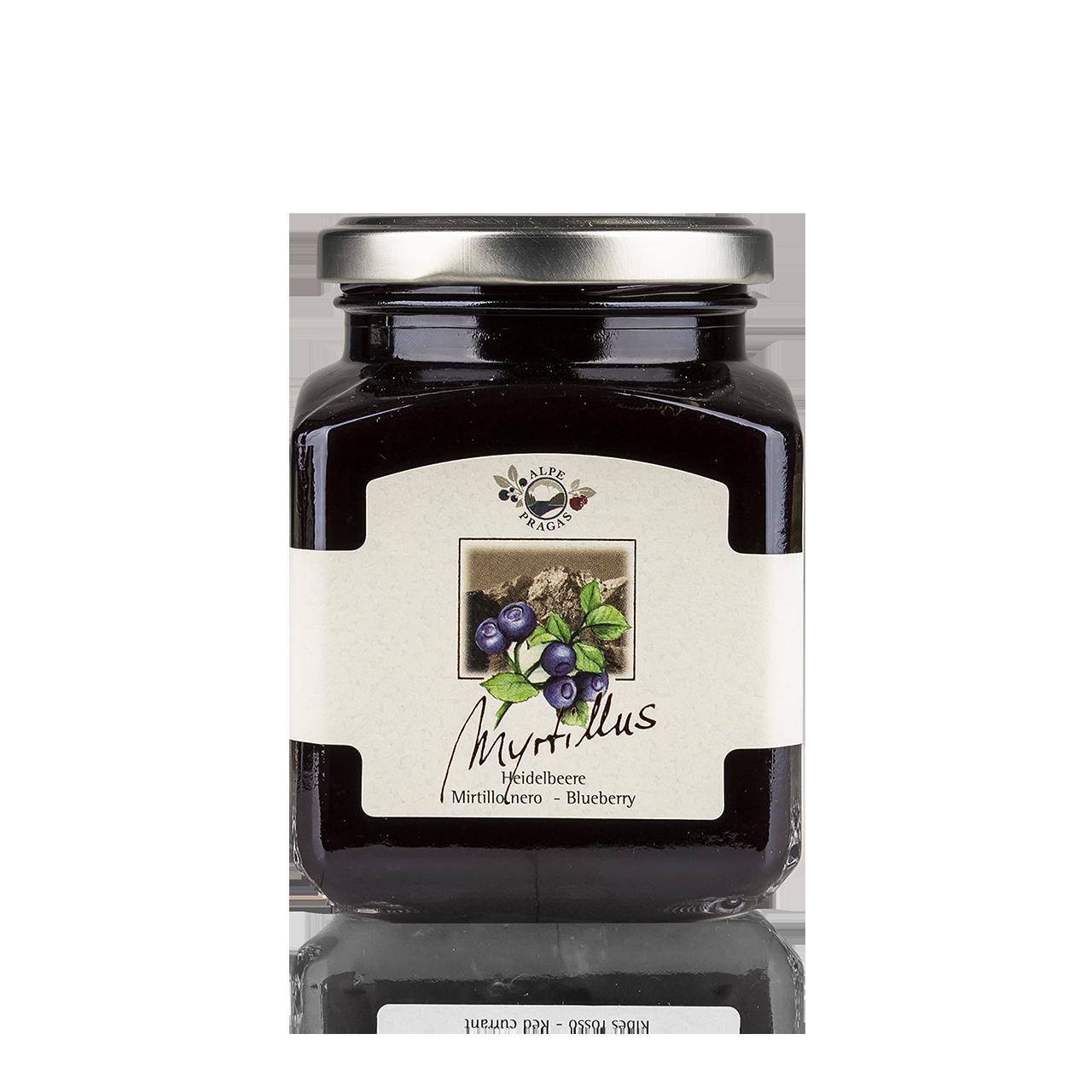 Myrtillus Fruchtaufstrich Heidelbeere 335g - 75% Frucht