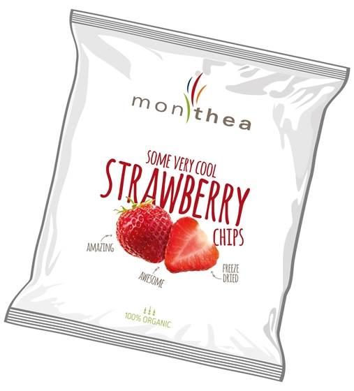 Erdbeer-Fruchtchips