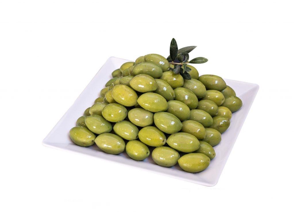 grüne Italienische Oliven