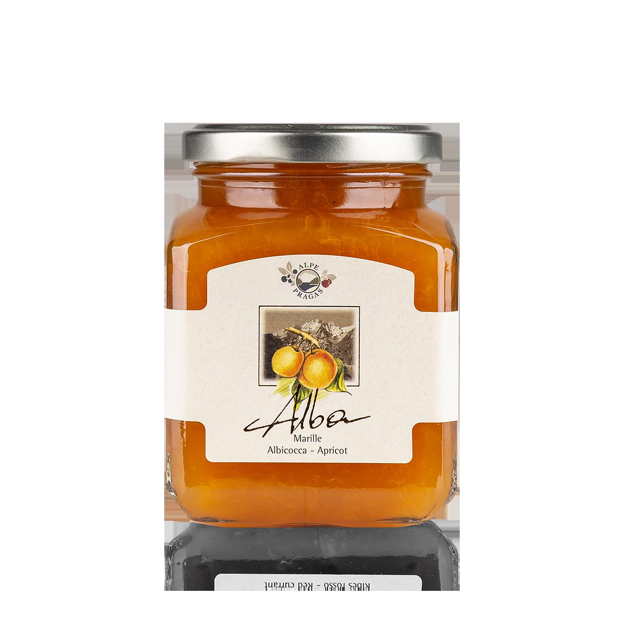 Alba Fruchtaufstrich Marille 335g - 75% Frucht