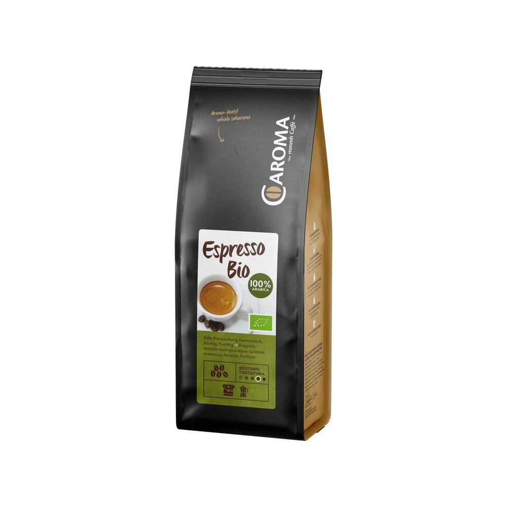 Bio 100% Arabica Bohnen Espresso