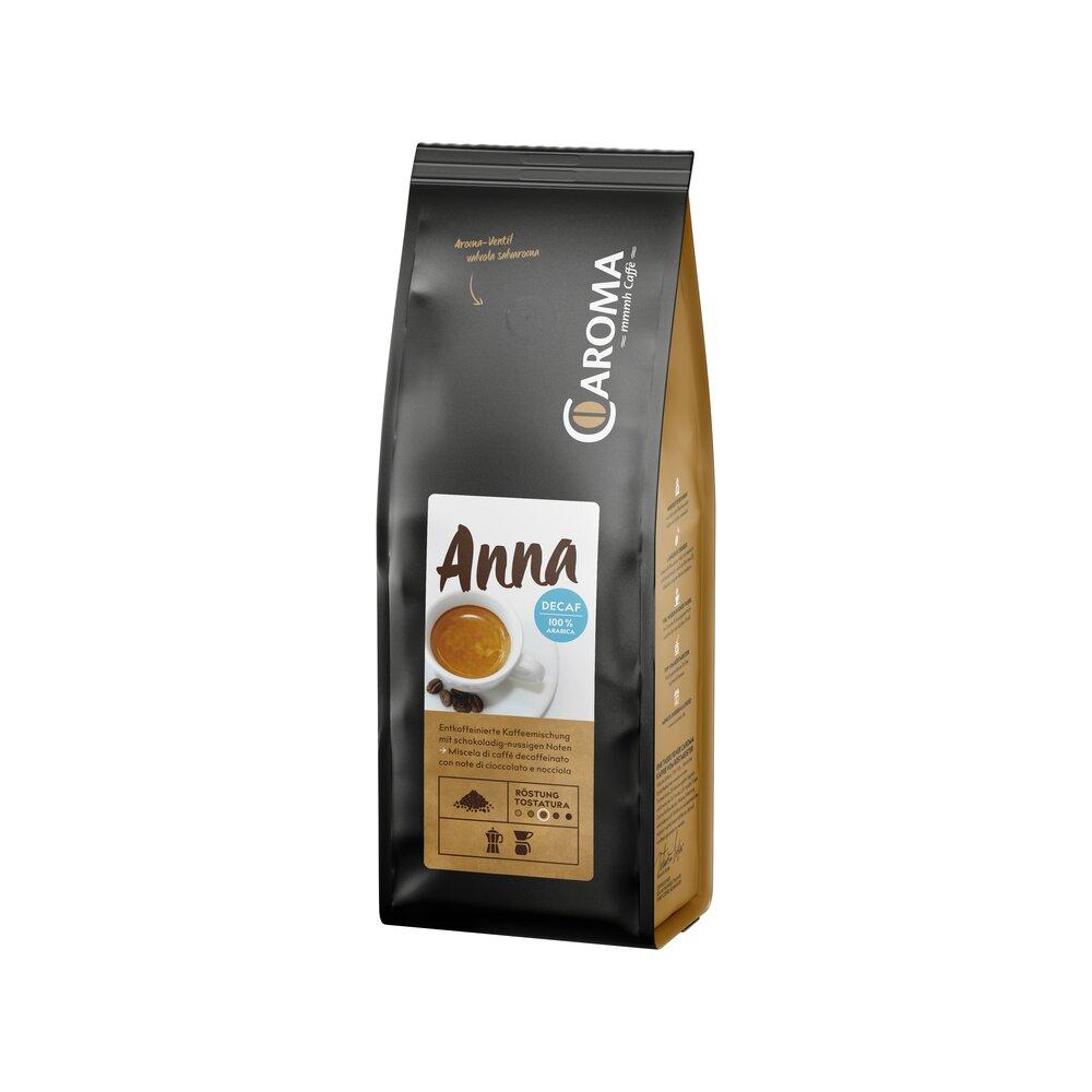 Anna Koffeinfrei 100 % Arabica gemahlen