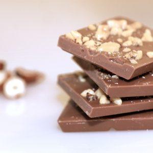 Vollmilchschokolade mit Haselnuss