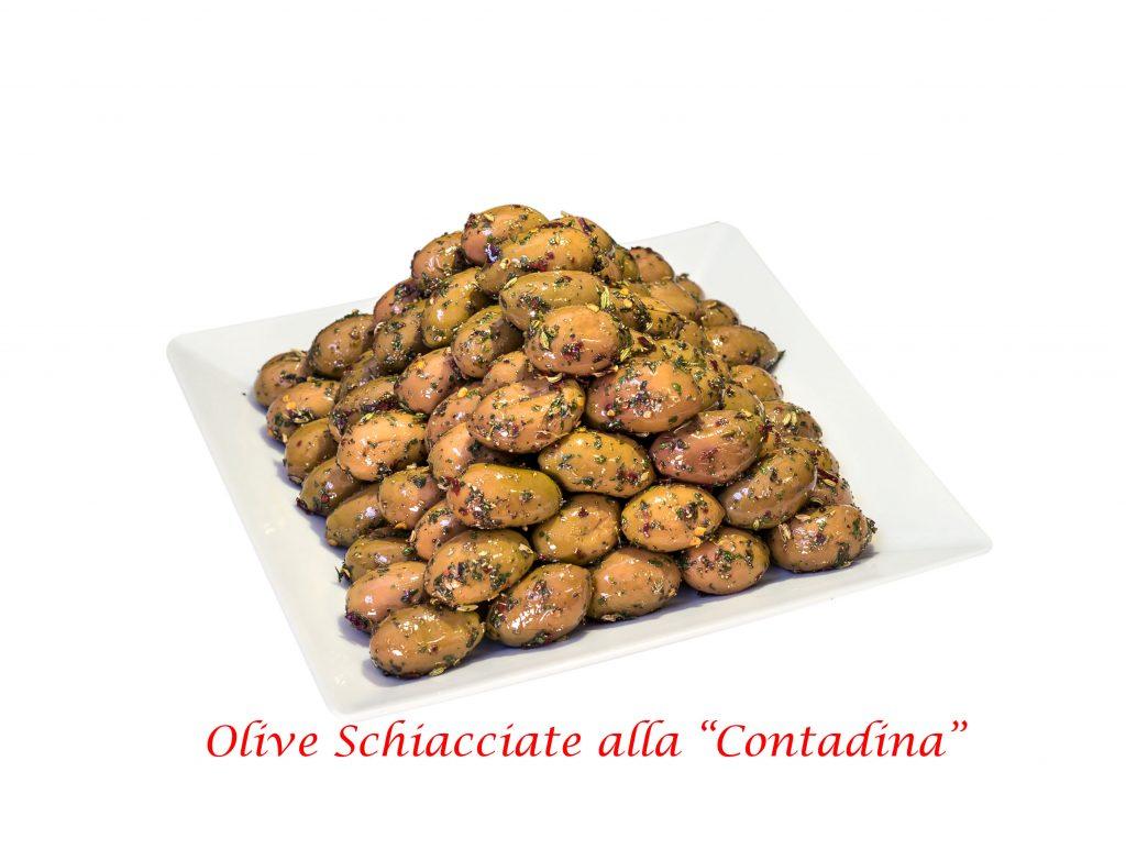 """Oliven OHNE Stein nach Bauernart """"Oliva bella di Cerignola Gigante"""" Netto 400g"""
