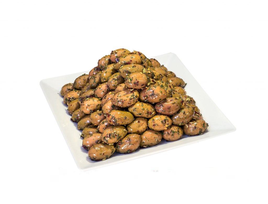 Oliven ohne Stein nach Bauernart