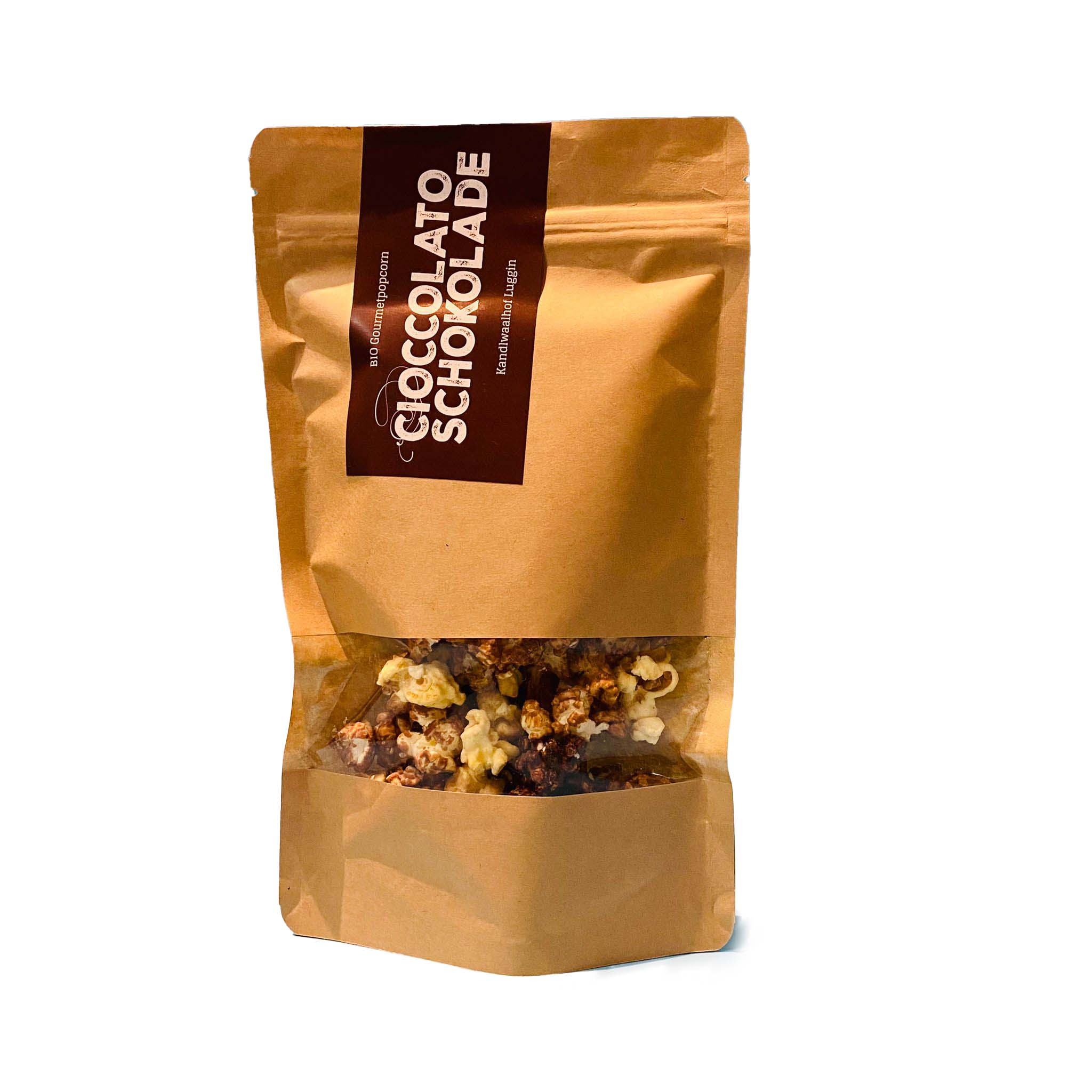 Bio Gourmetpopcorn mit Schokolade