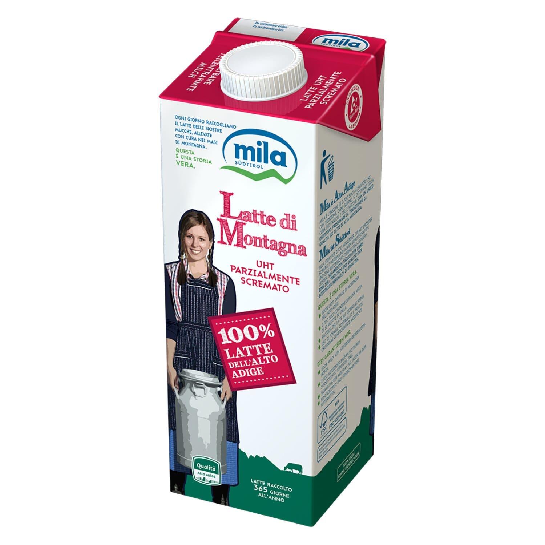 Haltbare Milch - Teilentrahmte Milch aus Südtirol