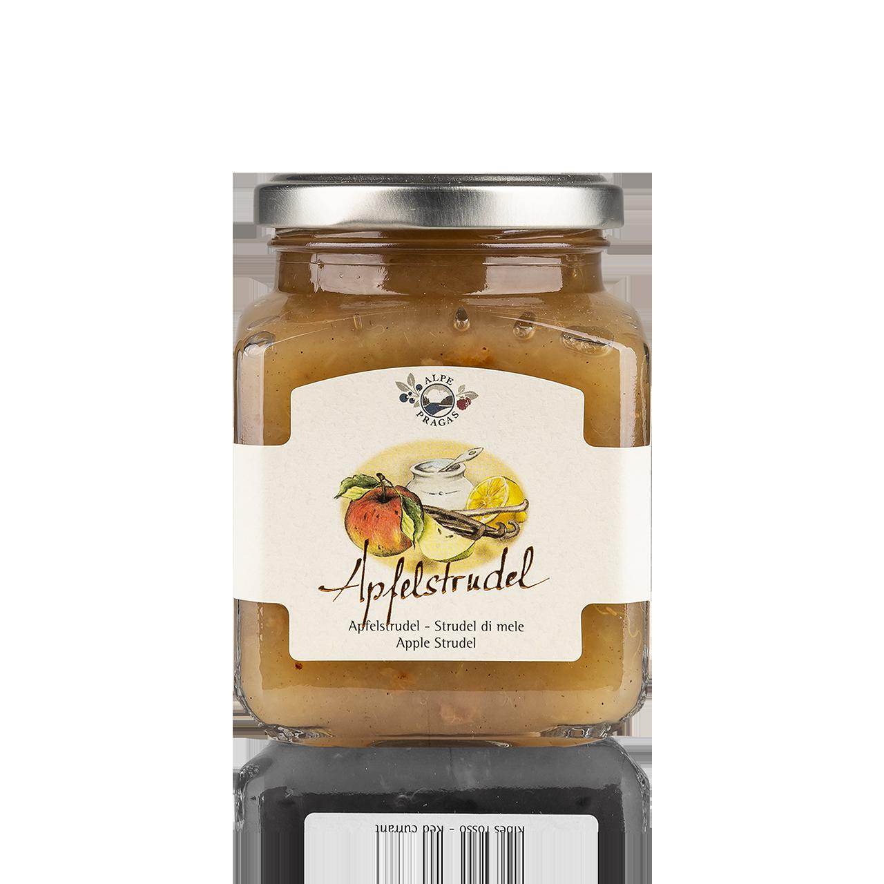 Apfelstrudel Fruchtaufstrich Apfelstrudel 335g - 75% Frucht