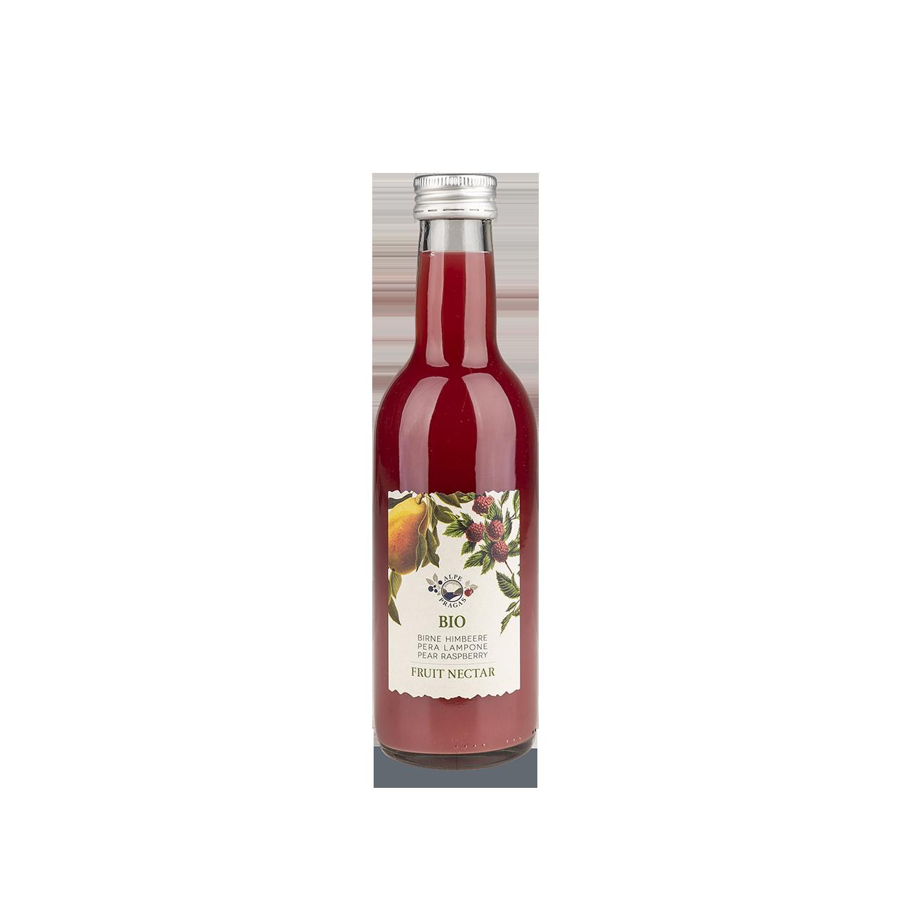 Raspera Fruchtnektar Birne und Himbeere Bio 250 ml